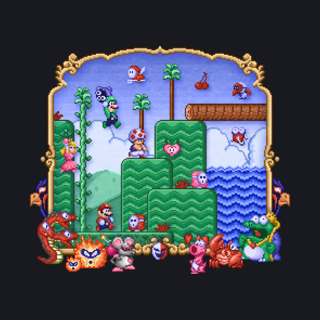 Mario Super Bros, Too
