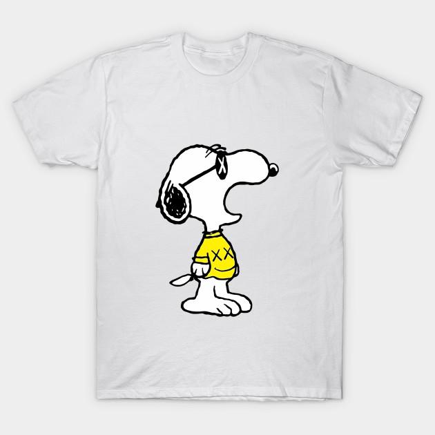Snoopy Kaws Logo Art