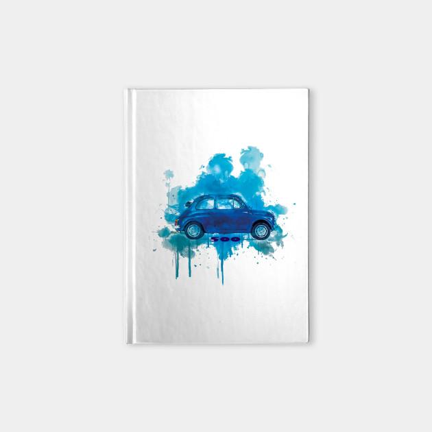 Fiat 500 open Aqua Splash Blue