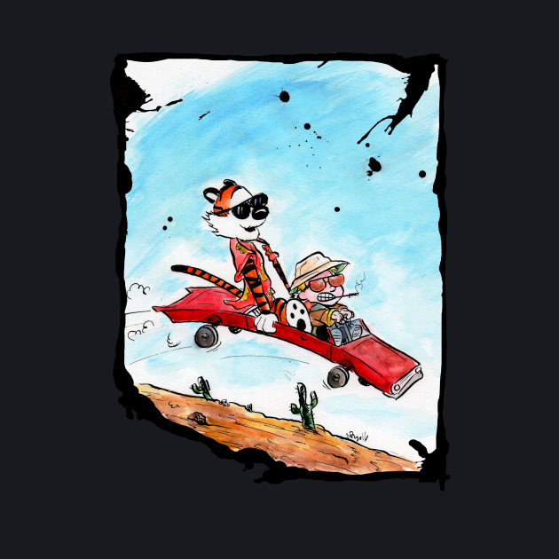 Calvin and Hobbes Fear and Loathing in Las Vegas