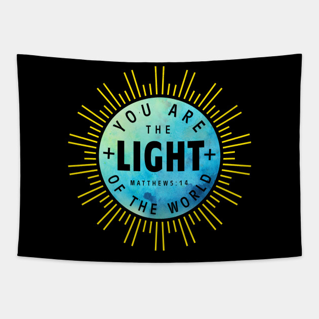 You Are The Light Christian Design Gifts