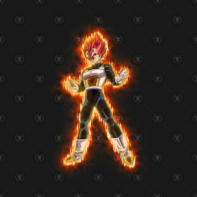 Vegeta Super Sayian God
