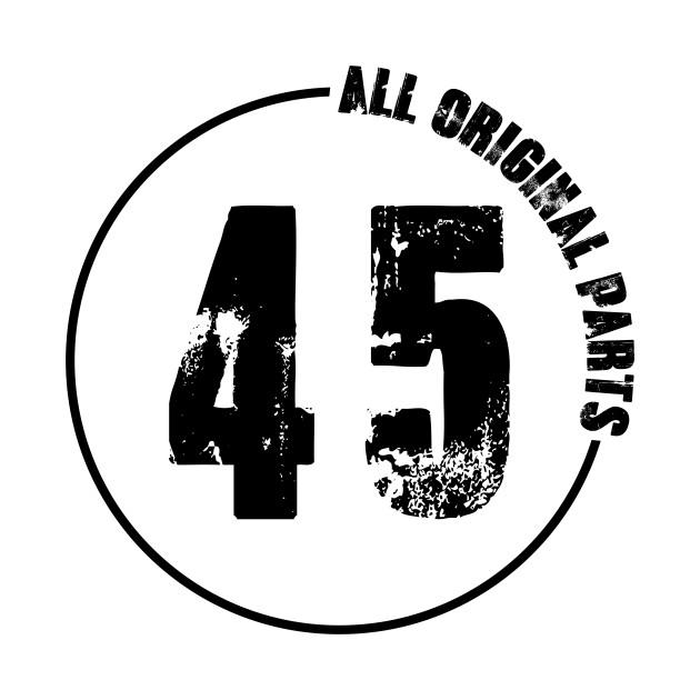 45th All original Parts