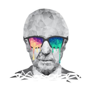 Albert Hofmann - Psychedelic Polygon Crystalised Portrait