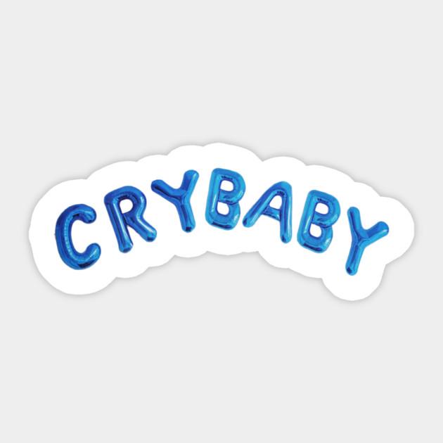 Cry Baby Logo Cry Baby Sticker Teepublic