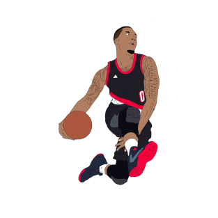 separation shoes 36a06 956a9 Damian Lillard Gifts and Merchandise | TeePublic