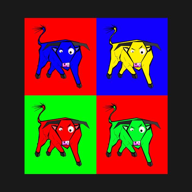 4 bulls