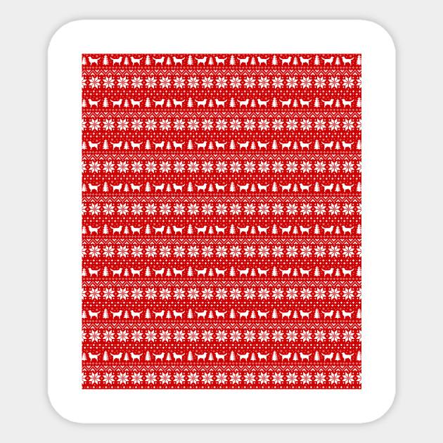 Nova Scotia Duck Toller Retrievers Christmas Sweater Pattern