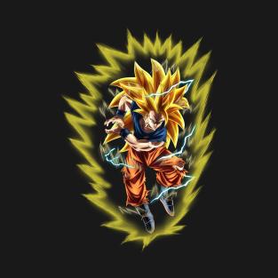 7bed8f925e67 Goku Super Saiyan 3 T-Shirts | TeePublic