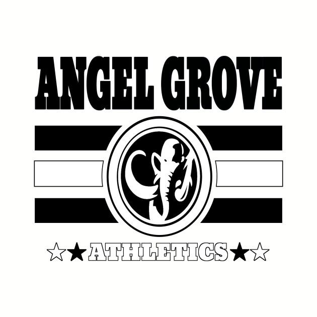 Angel Grove Athletics - Black