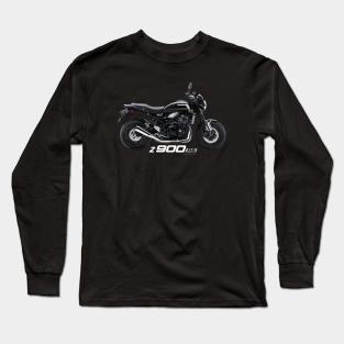 OS Gear Distressed Kawasaki Mens Motorcycle Sweatshirt