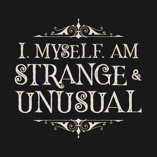 Strange and Unusual (Dark)