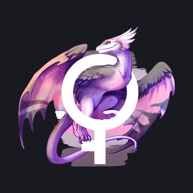 Demigirl Pride Dragon