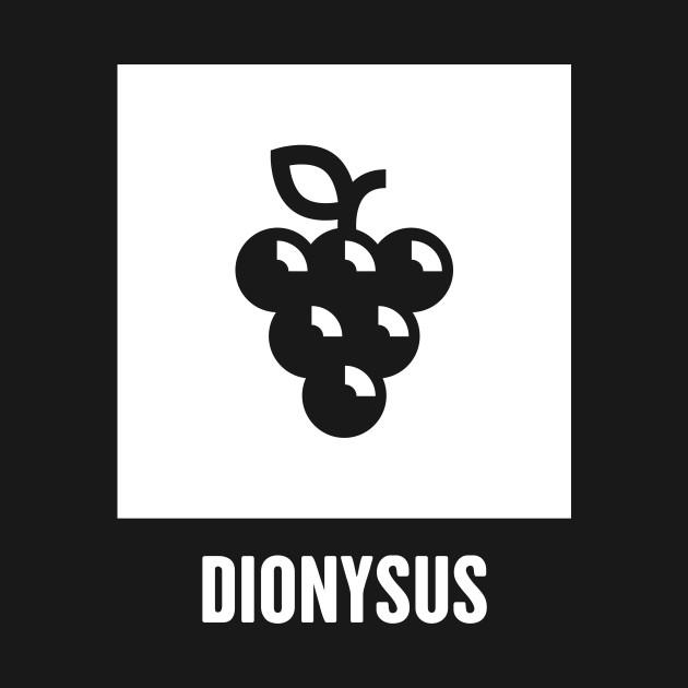 Dionysus Greek Mythology God Symbol Greek Mythology T Shirt