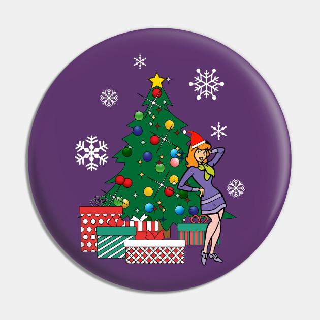 Daphne Around The Christmas Tree Scooby Doo