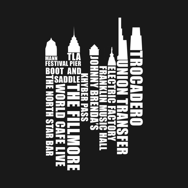 Music City Philadelphia - White