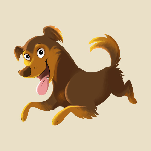Bouncing pup
