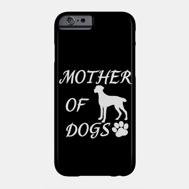 Mother of Dogs - Brittany Spaniel Dog Phone Case