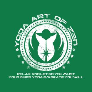 Yoda Zen W t-shirts