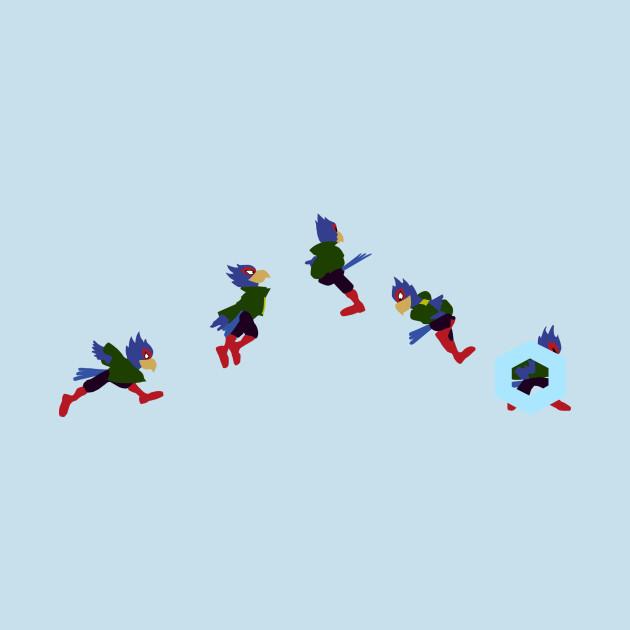 Falco Shine Pillar Green