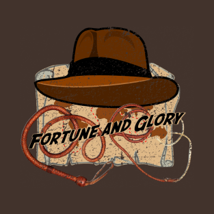 Fortune and Glory distressed t-shirts
