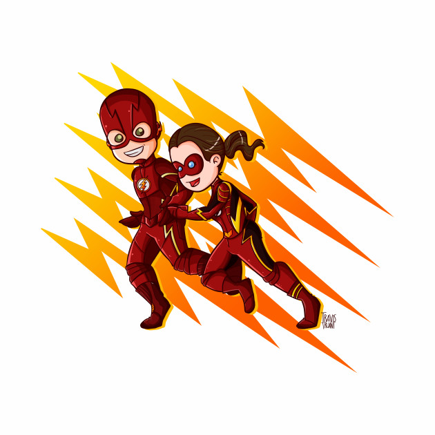 The Flash & Jesse Quick