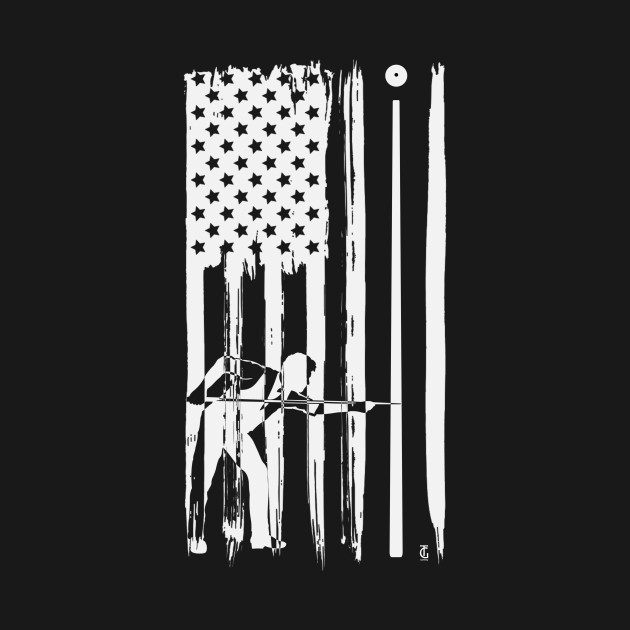 Billiard USA Flag