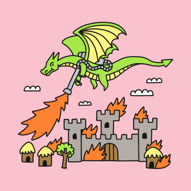 Dragon with a Flamethrower