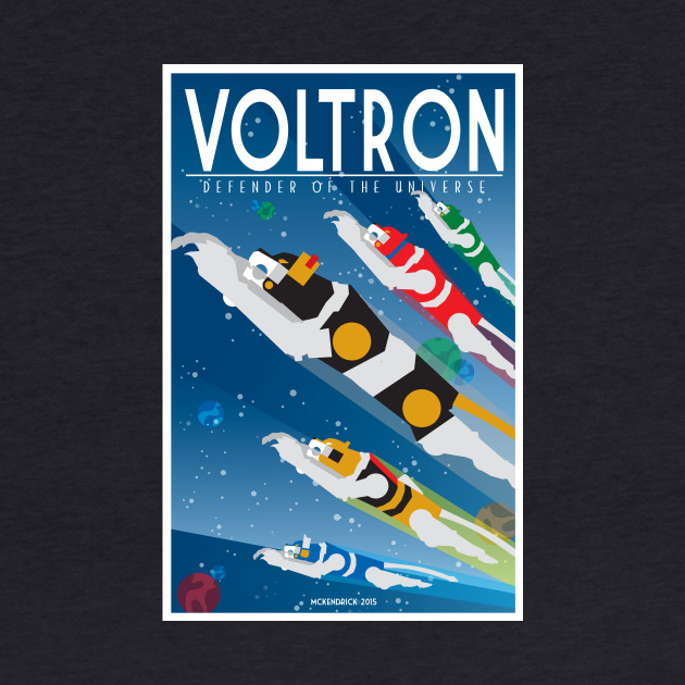 Voltron Flying Lions