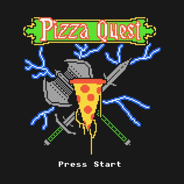 2c788d964 ... Long Sleeve T-Shirt. New!Back Print. Pizza Quest Pizza Quest
