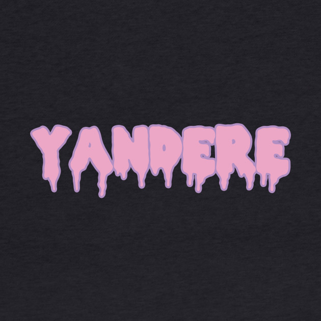 Yandere pink text