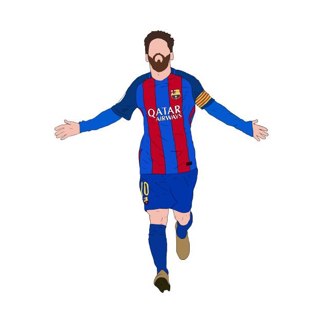 Leo Messi Celebration Crewneck Sweatshirt