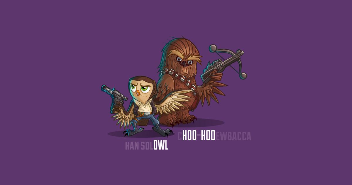 C Hoo Hoo Ewbacca Sticker