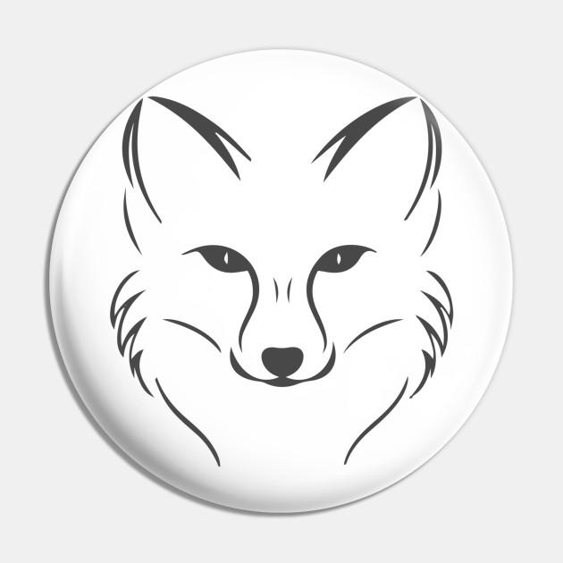 Fox Head T Shirt Foxes Pin Teepublic