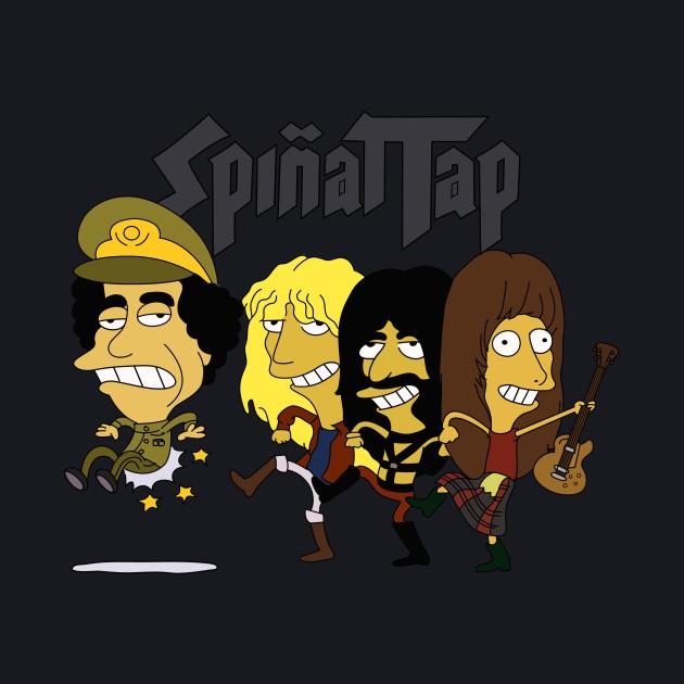 Simpsons Spinal Tap Tour Shirt