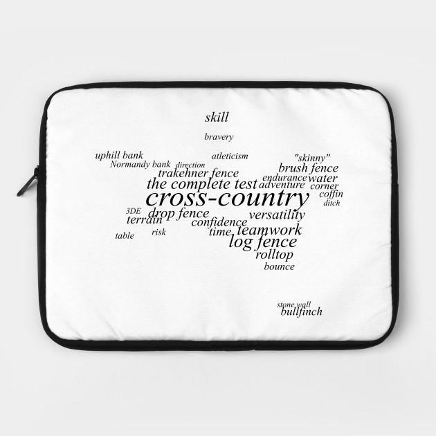 Equestrian Dictionary - Cross-country (light)