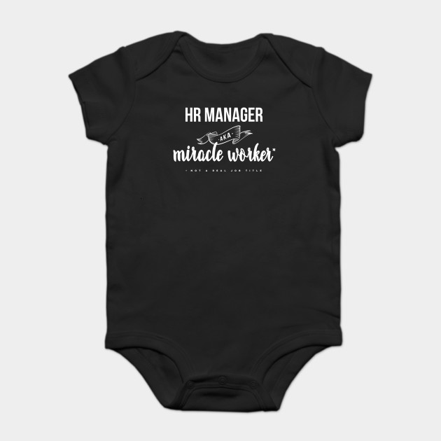 Funny HR Manager AKA Miracle Worker Design