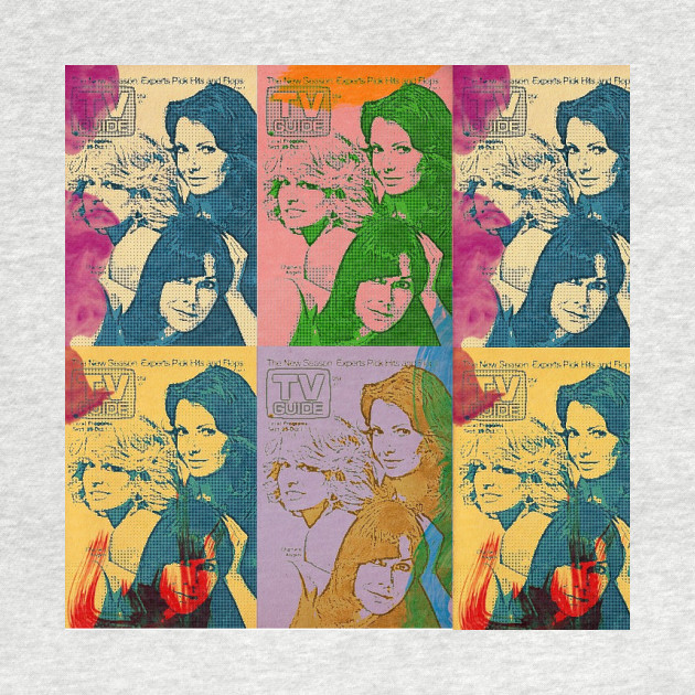 Charlie's Angels Pop Art