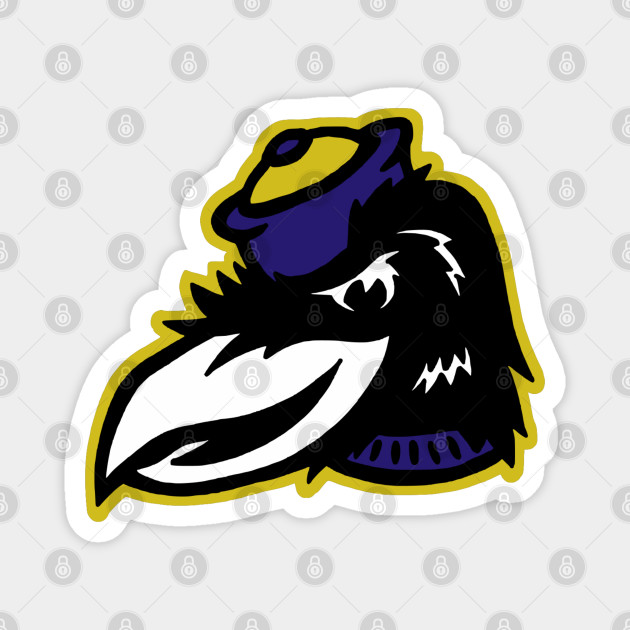Vintage Style Ravens Mascot