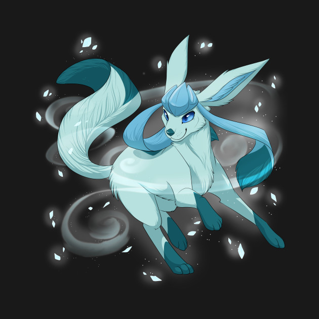 Glaceon used Icy Wind!