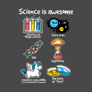 Science is awesome t-shirts