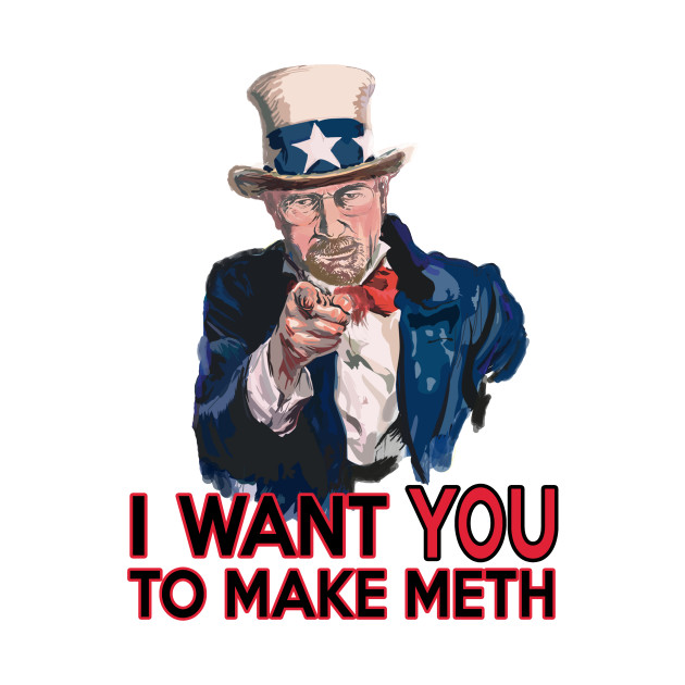 Walter White Uncle Sam
