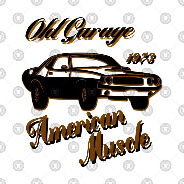 American muscle design
