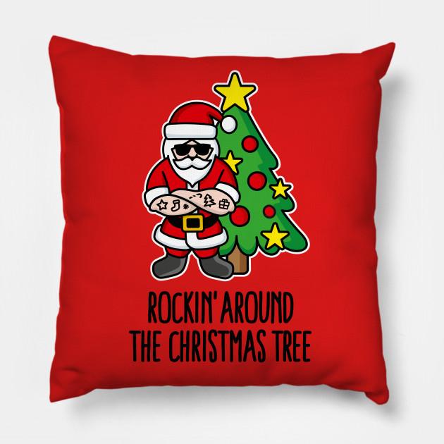 Rockin Around Christmas Tree.Rockin Around The Christmas Tree Rock Santa Claus