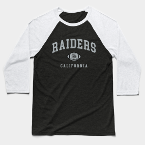 buy popular c7da3 efccb Oakland Raiders Baseball T-Shirts   TeePublic