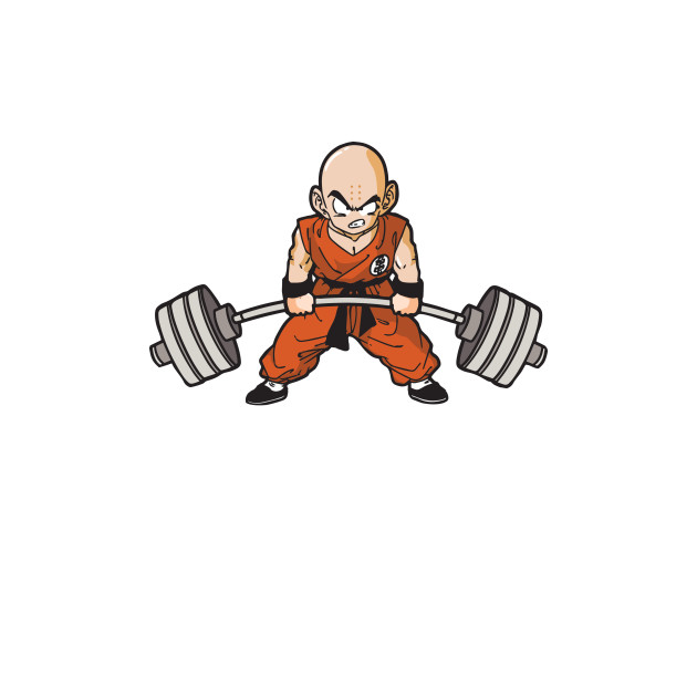 Krillin Is Warming Up With Your Max (Deadlift)