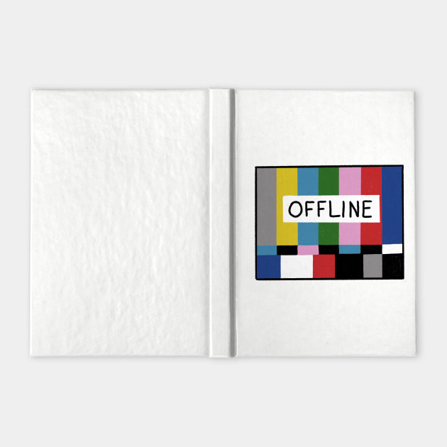 No Signal Television Screen Color Bars Test Pattern Offline