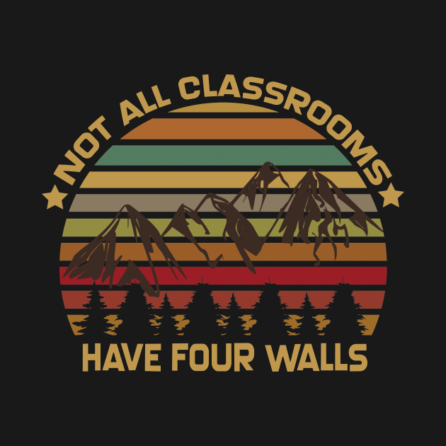 Not All Classrooms Have Four Walls Vintage Mountain