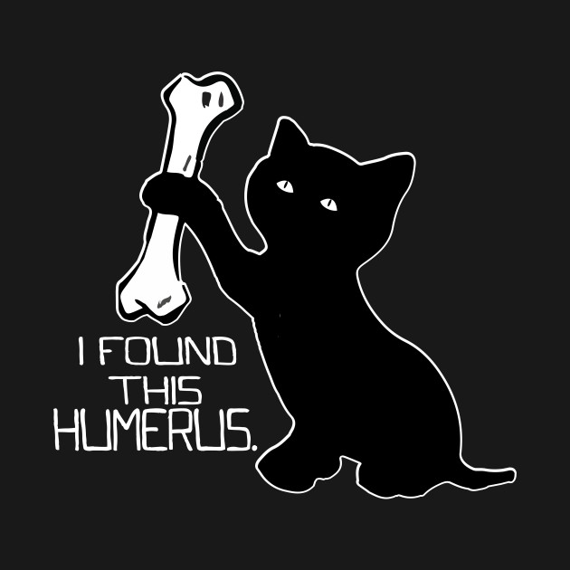 864f2518 Funny T-Shirt I Found This Humerus cats- Humourous Pun - Funny I ...