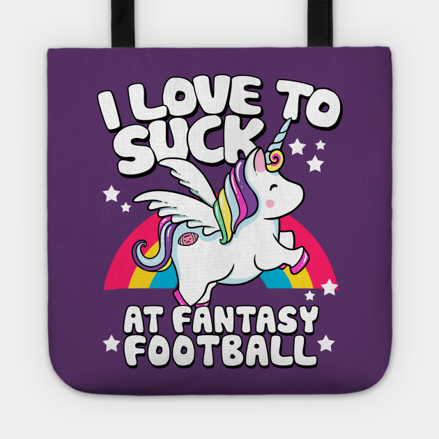 I Suck At Fantasy Football Loser Unicorn
